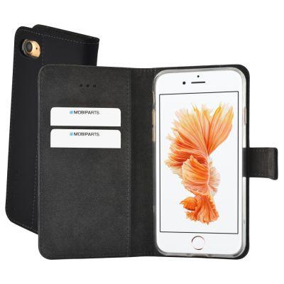 Mobiparts Premium Wallet TPU Case Apple iPhone 7/8 Black